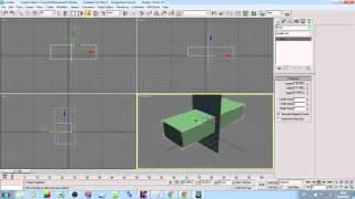 Разрезать объект 3D max