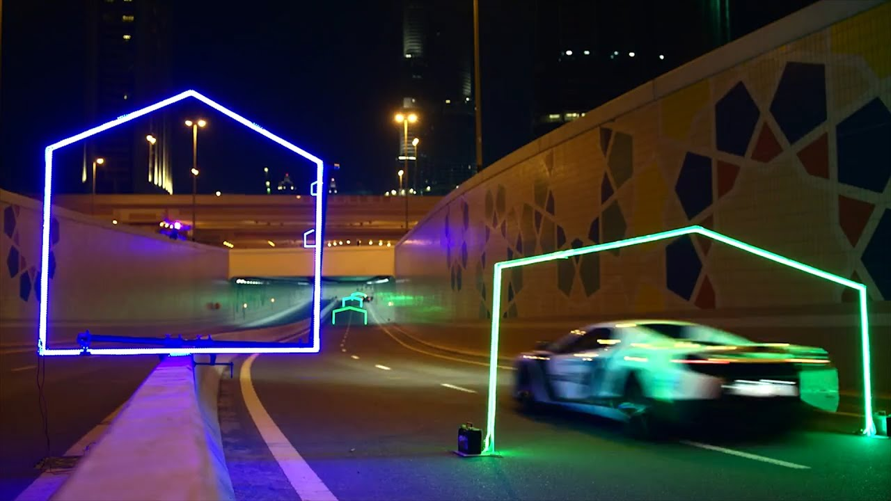 Drone Racing (FPV): Drone Versus McLaren Car