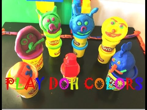 play doh videos best 7 colors with angry amazing and funny faces play doh kids toys lovers youtube. Black Bedroom Furniture Sets. Home Design Ideas