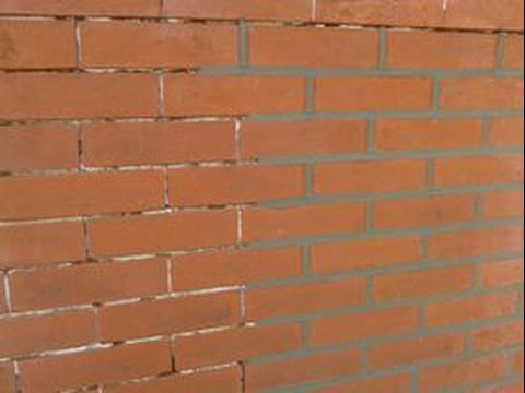 Brick Pointing Fast And Neat Youtube