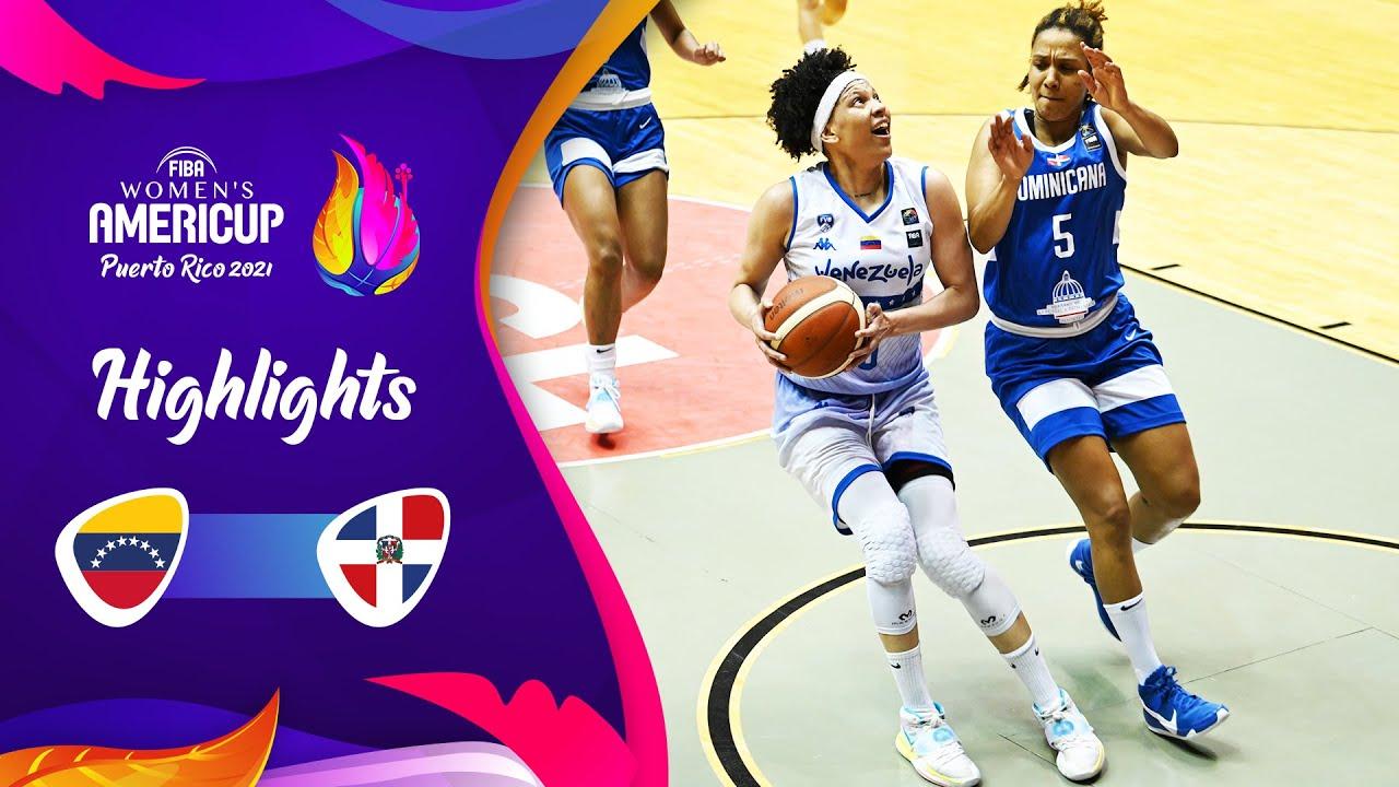 Venezuela - Dominican Republic | Highlights - FIBA Women's AmeriCup 2021