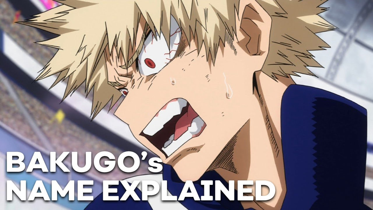 Why BAKUGO's Name is a Perfect Fit | Anime Names Explained