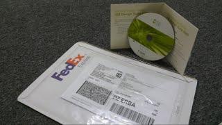 أثبات الحصول على DVD تعليمي عن تصميم المواقع على الانترنت مجانا و الى باب المنزل