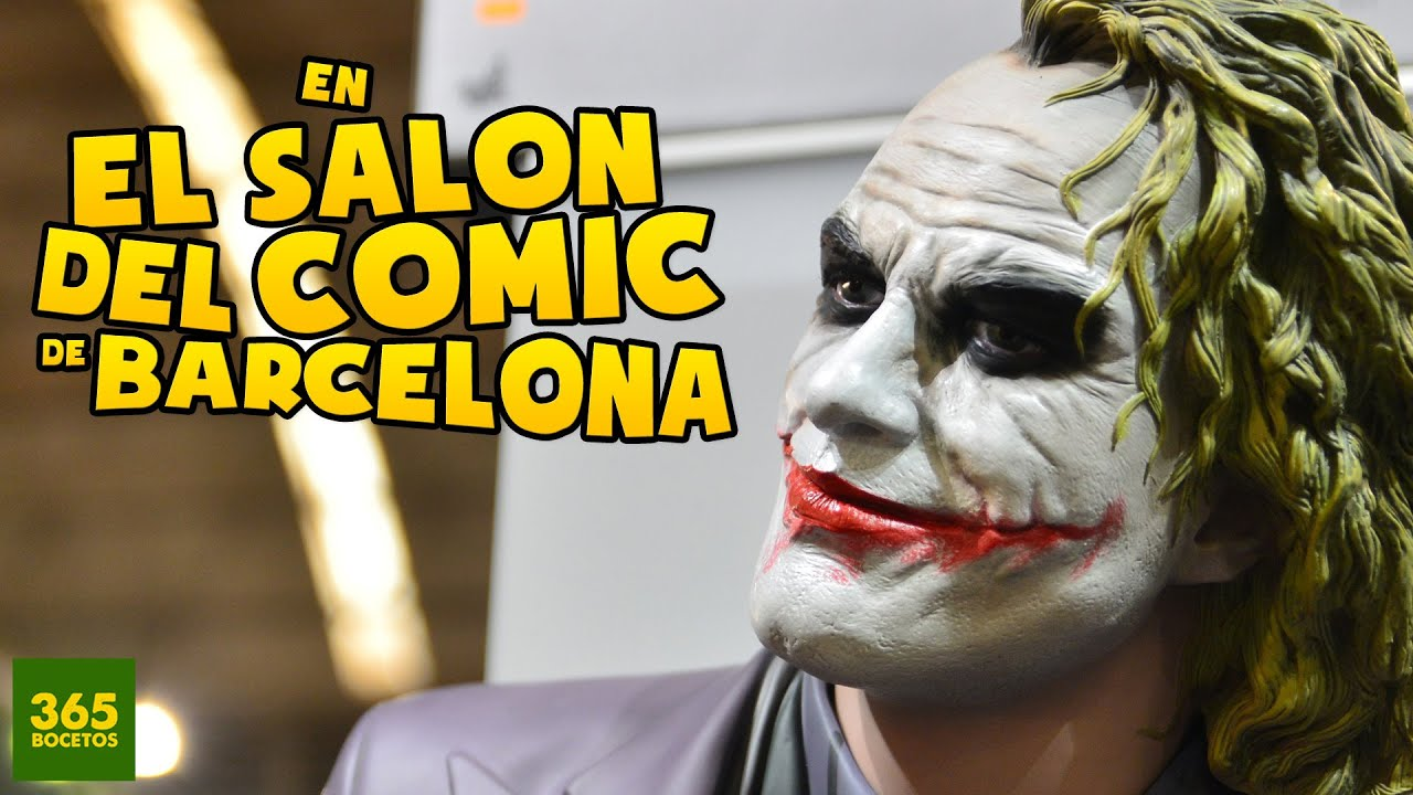Salon Del Comic Mi Visita Al Salon Del Comic De Barcelona Youtube