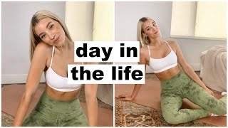 day in the life: at home workout &amp a easy dinner recipe!  Keaton Milburn