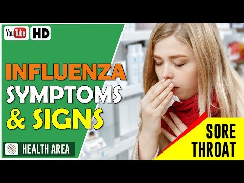 Top 6 Early Flu Symptoms | What are The Symptoms of the Influenza?