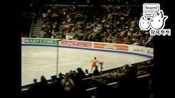 [fan cam] 2009 world championship ladies free warm-up