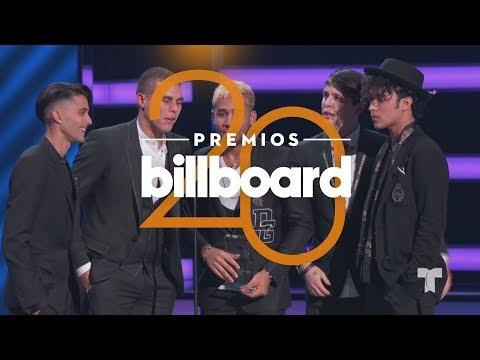 CNCO triunfa con el premio de Artista 'Latin Pop' del Año, Dúo o Grupo | Premios Billboards 2018