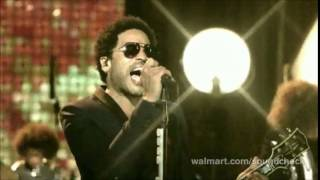 Lenny Kravitz - Dirty White Boots (SoundCheck Walmart 2014)