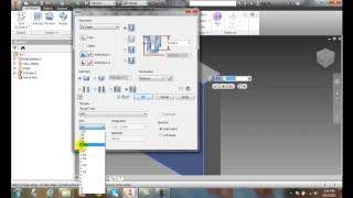 Inventor 06-13 Creating Holes   Taper Tapped Hole