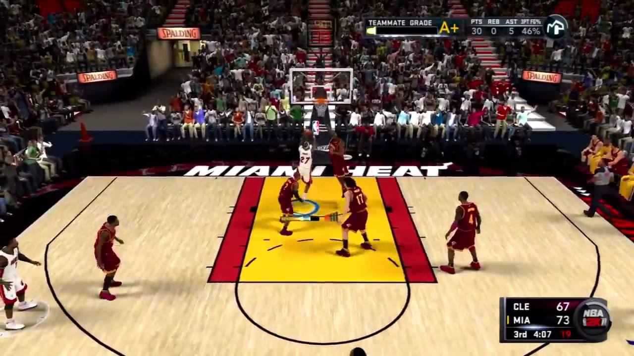 Image result for nba 2k11 court spacing
