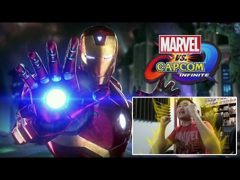Marvel vs. Capcom Infinite Reveal Trailer! [REACTION]