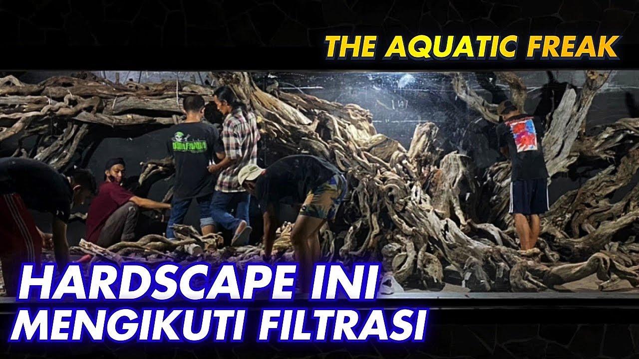 #43- HARDSCAPE PALING GILA !! MEGATANK 100TON Feat @The Aquatic Freak