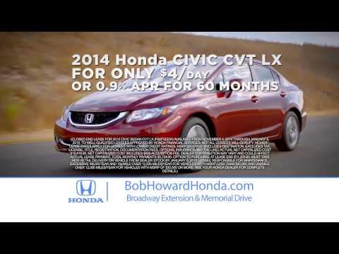 A Lifetime's worth of Value at Bob Howard Honda: Edmond's best Honda dealer!