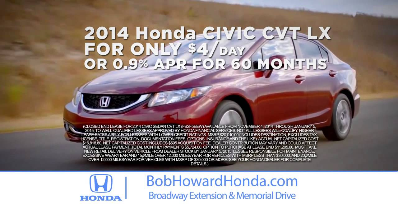 Bob Howard Honda >> A Lifetime S Worth Of Value At Bob Howard Honda Edmond S Best Honda Dealer