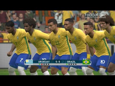 PES 2017 | Uruguay vs Brazil | Penalty Shootout | Gameplay PC