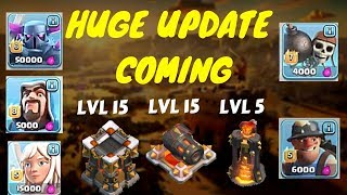 **NEW UPDATE HERE** Pekka lvl 6|HEALER 5 cannon lvl 15 and more|clash of clans june update coming