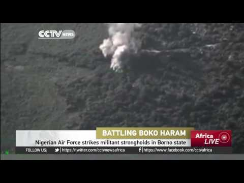 Nigerian Air Force strikes Boko Haram's strongholds on Borno state