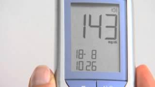 Produktvideo zu Sprechendes Blutzuckermessgerät Beurer GL 34.