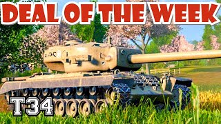 T34 Deal of the week Premium || World of Tanks Hot Wheels Console PS4 XBOX