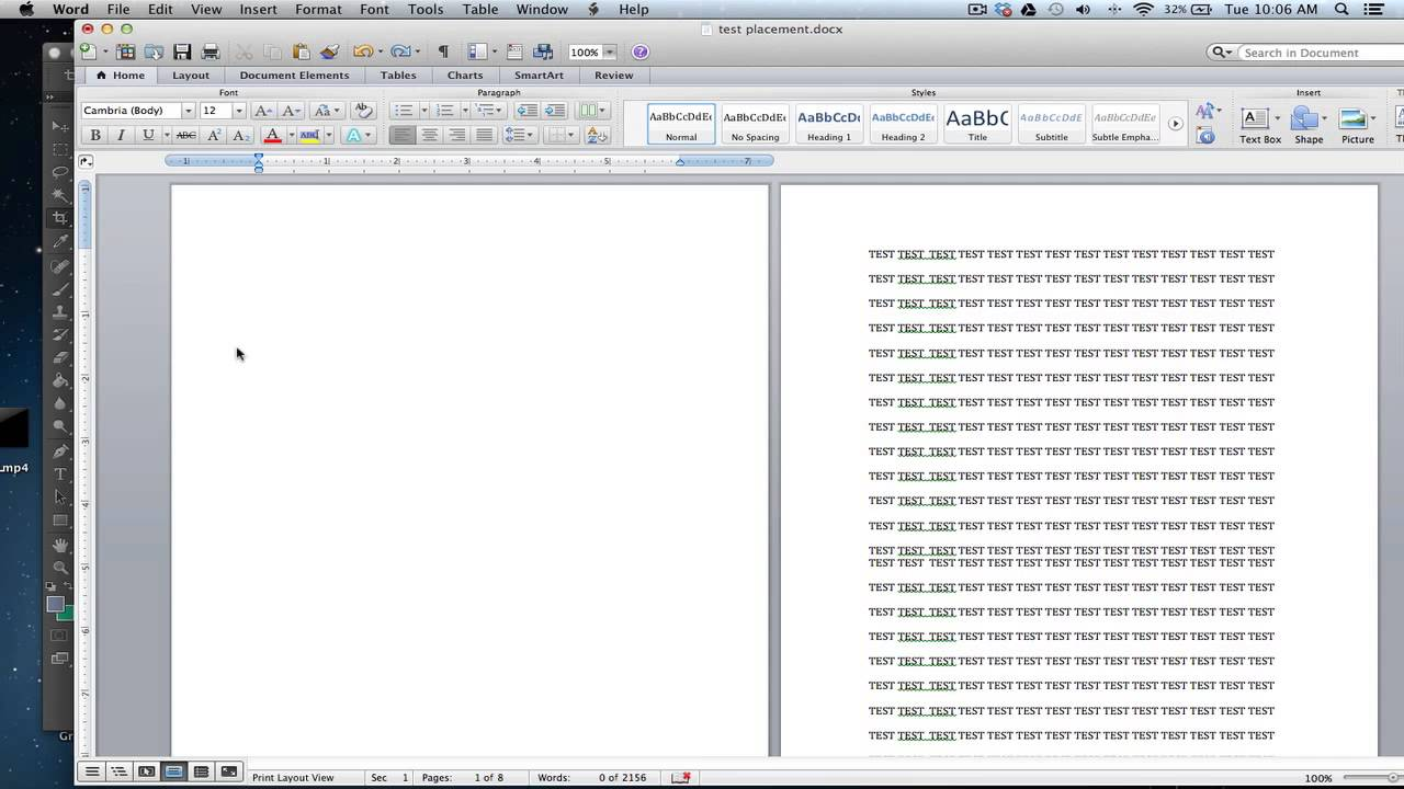 How To Delete Enitre Pages In Microsoft Word 2011