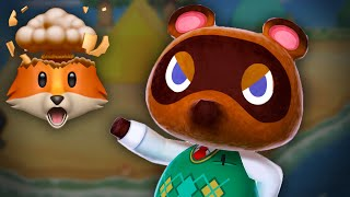 IN DEBT TO TOM NOOK (and he ain't happy...) | Animal Crossing: New Horizons