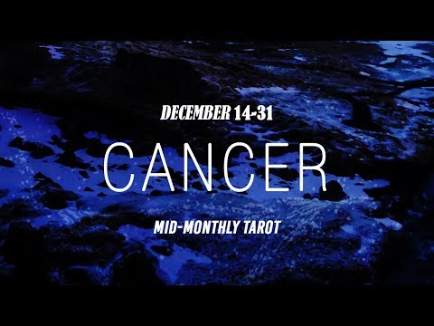 CANCER DEC-14-31; SPARKS FLY...but with WHO now?