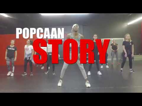 POPCAAN ft DAVIDO  STORY - Dancehall Class - Shady Squad Choreography 2017