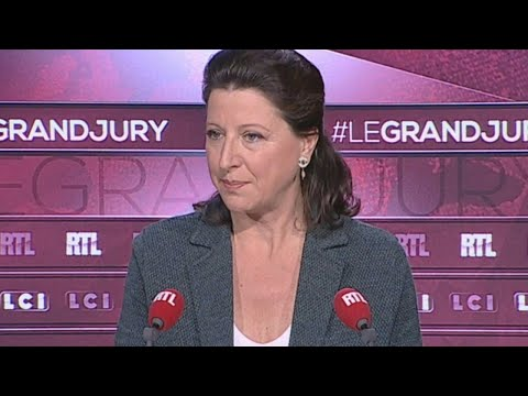 "Agnès Buzyn était l'invitée du ""Grand Jury"" le 22 octobre 2017"