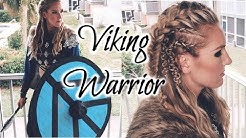 VIKING WARRIOR DIY | Costume & Hair Tutorial