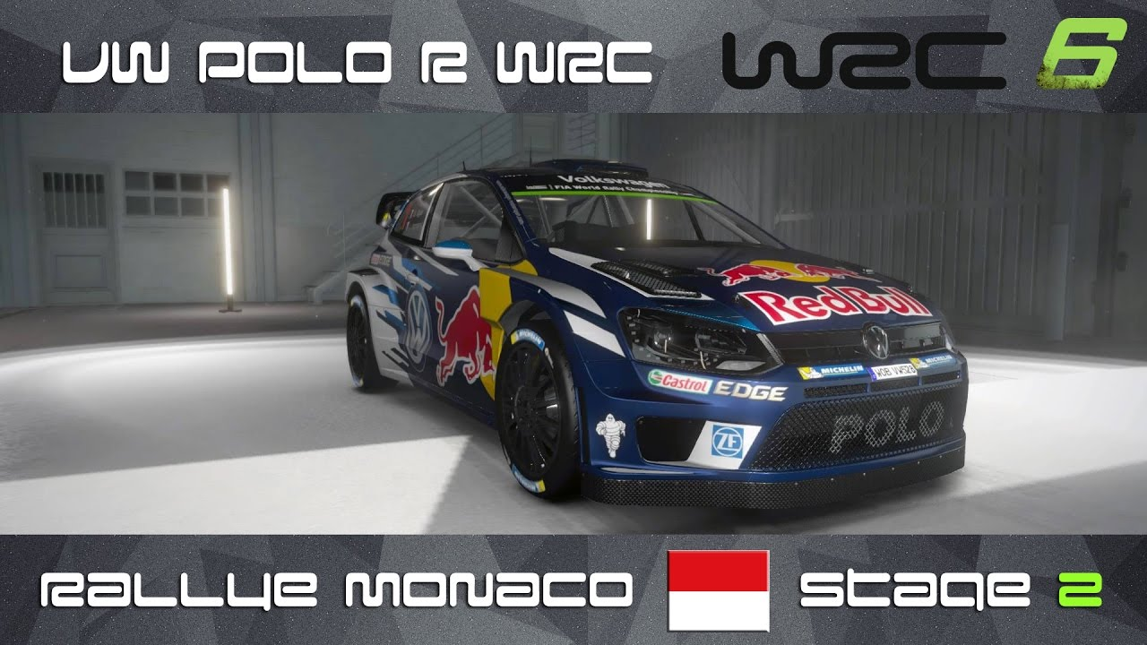 wrc 6 ps4 vw polo r wrc rally monaco stage 2 youtube. Black Bedroom Furniture Sets. Home Design Ideas