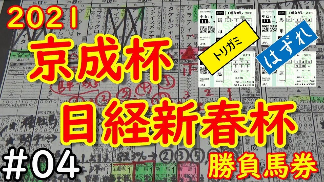 【京成杯】【日経新春杯】金欠のためより少額ですが勝負します!!!