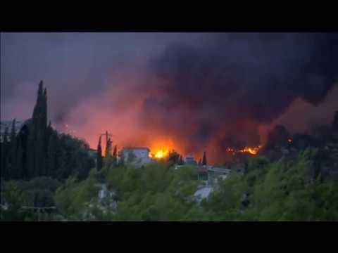Ανείπωτη τραγωδία στην Ελλάδα από τις φονικές πυρκαγιές