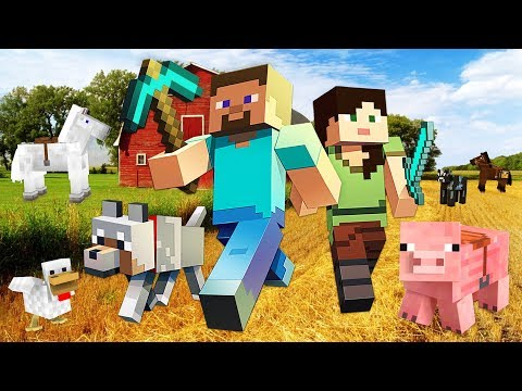 BUILDING OUR FARM!! MINECRAFT w/ MY GIRLFRIEND!! (Minecraft #6)