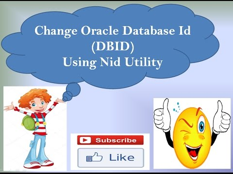 How to Change Oracle Database ID ( DBID ) using Nid Utility. /* Step By Step /*