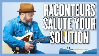 Raconteurs Salute Your Solution Guitar Lesson + Tutorial
