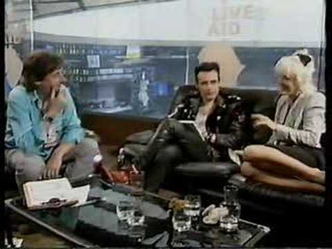 interview with Adam Ant & Paula Yates + Big Country