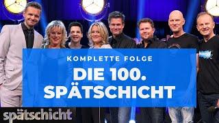 Die 100. Spätschicht vom 10.05.2019 mit Florian, Lisa, Alain, Rüdiger, Jens und Michael