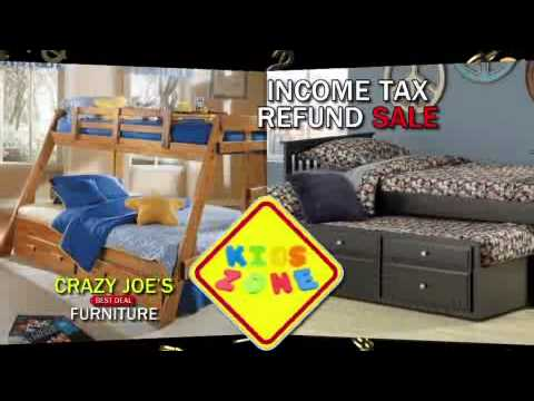 Crazy Joeu0027s Best Deal Furniture   Income Tax Refund Sale