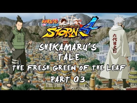 Naruto Storm 4 - The Fresh Green of the Leaf - Part 3 - A present for the Lord of Hozuki Castle