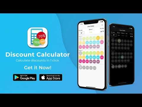 حساب التخفيضات التطبيقات على Google Play