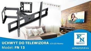 FN13 Obrotowy narożny uchwyt ścienny dla telewizorów LCD LED PLAZMA