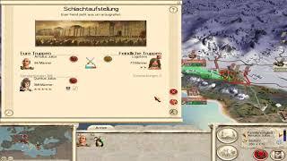 Rome Total War Kampange Julier Zusammenfassung #2