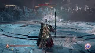 Lords of the Fallen Ancient Labyrinth DLC Keeper Boss Fight Cleric Playthrough