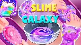 Unicorn Slime Cooking Games Part 1 Galaxy Slime Walkthrough