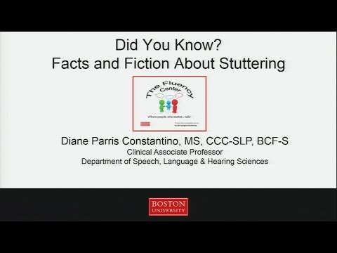 Did You Know? Facts and Fiction about Stuttering