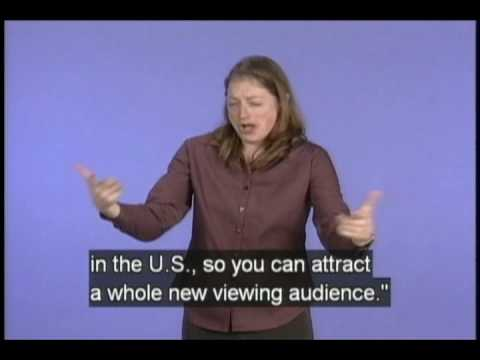 "Christy Smith, the Deaf ""Survivor"" (Tells) Signs All! (accessible preview with captions)"