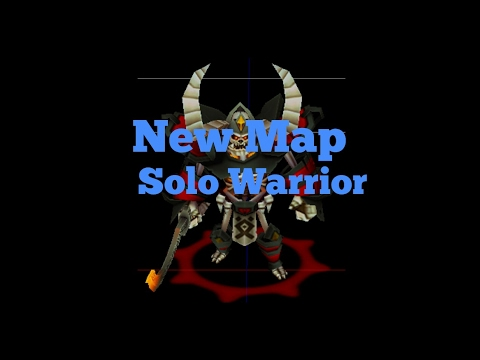 Arcane Legends New Map Solo Warrior