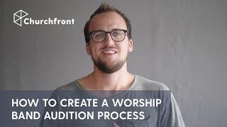 كيفية إنشاء العبادة الفرقة الاختبار عملية