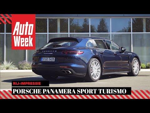 Porsche Panamera Sport Turismo - AutoWeek Review - English Subtitles